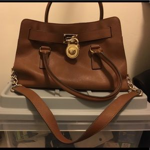 Brown Authentic Michael Kors Purse